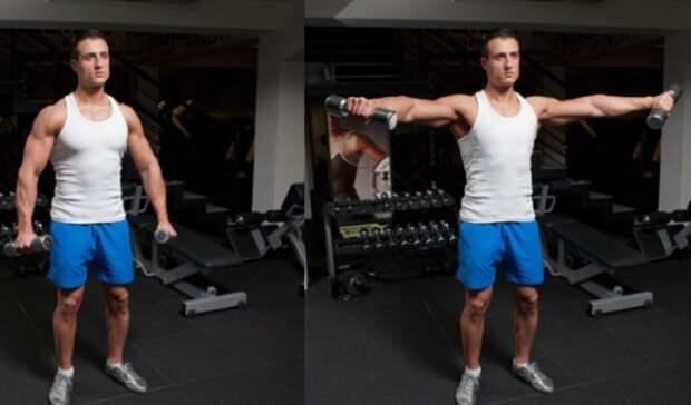 Берем легкую гантелю и сжигаем жир 5 упражнениями