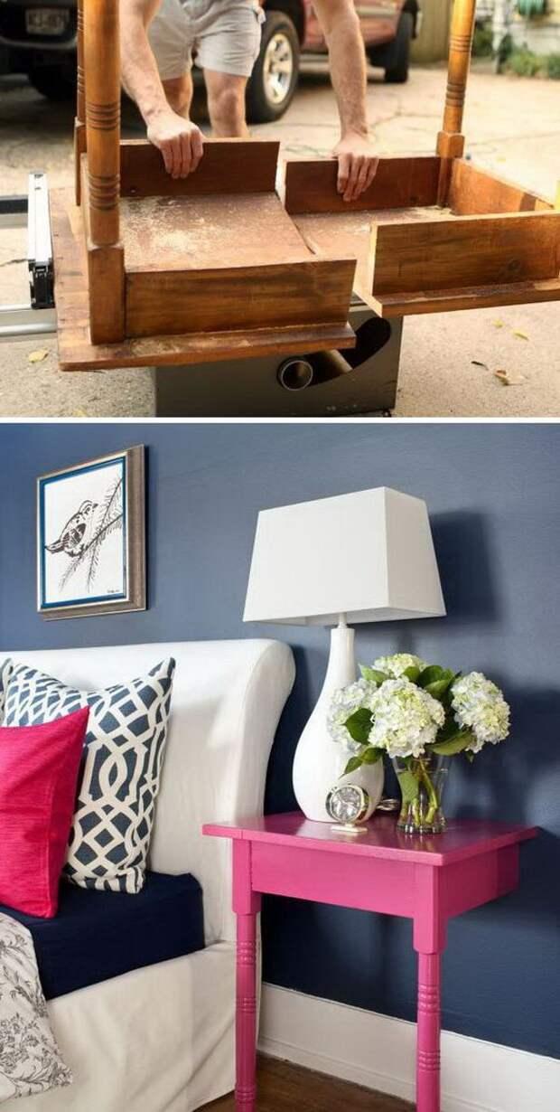 Прикроватный столик: 37 крутых идей для вашей спальни
