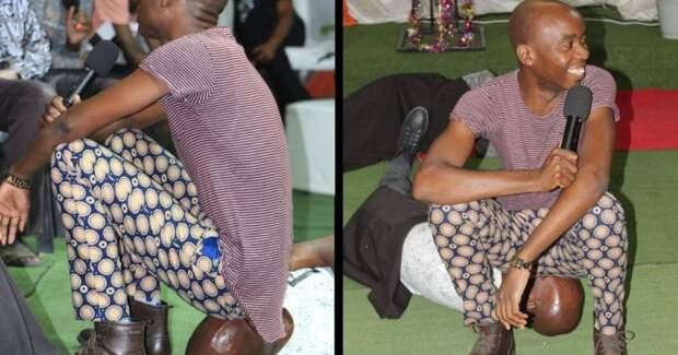 Пастор Христос из ЮАР излечивает душевные и физические недуги пердежом