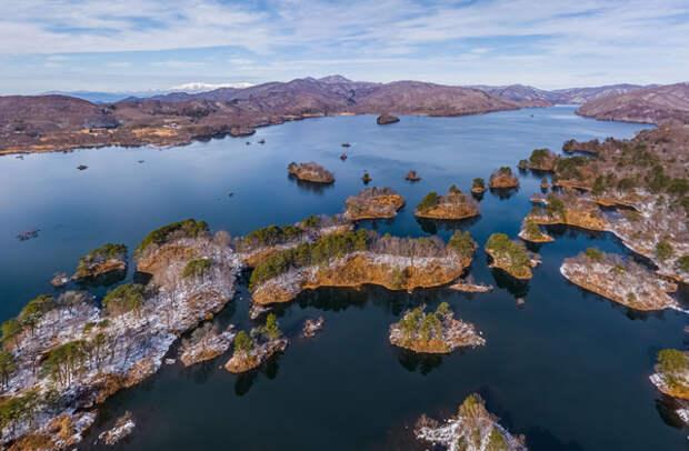 Япония: озеро Хибара