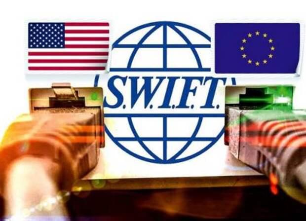Названы действия России в случае отключения от SWIFT