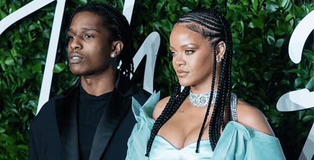 A$AP Rocky рассказал о романе с Рианной