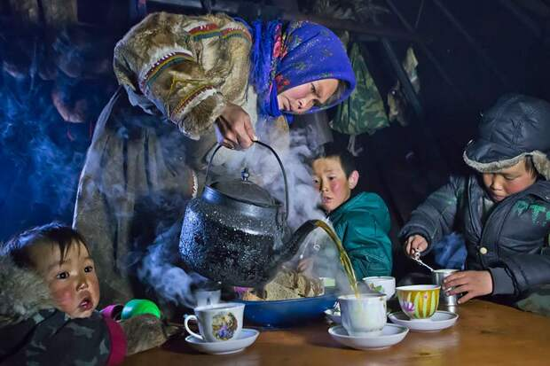 Чаевание на Ямале, Россия
