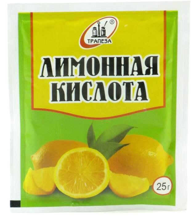 как отмыть кухню лимонной кислотой