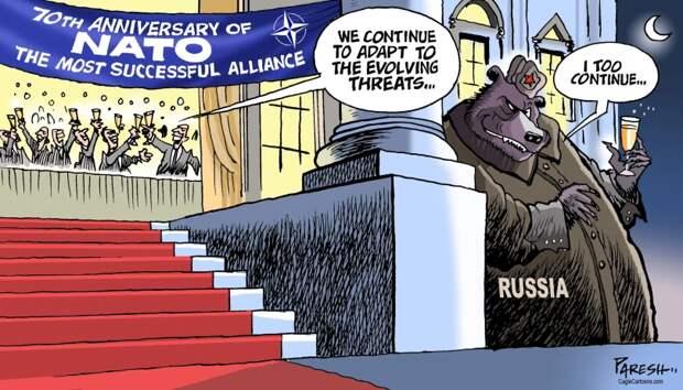 Курощение строптивого Бидона на арене геополитического цирка.