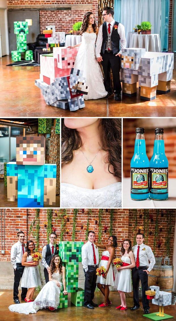 16 самых крутых тематических свадеб
