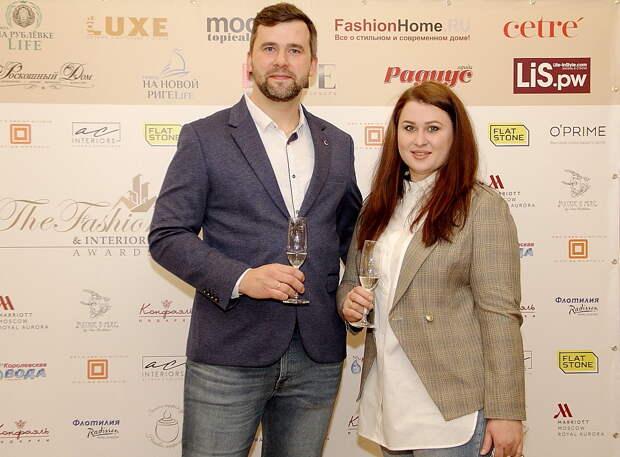 В Москве прошла вторая международная премия THE FASHION HOME & INTERIORS AWARDS