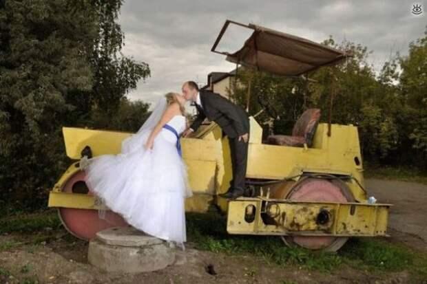 Прикольные свадебные торжества 36