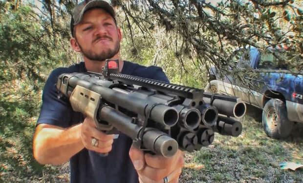Пистолет против бронежилета: считаем выстрелы пока не пробьет