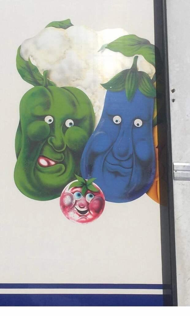 Глядя на это, овощи покупать расхотелось