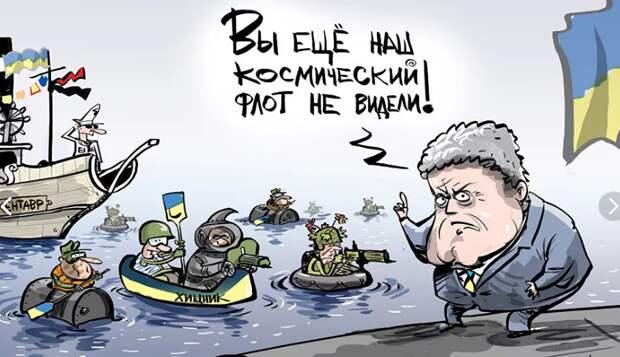 Анекдот: всплывает у берегов США украинская подводная лодка