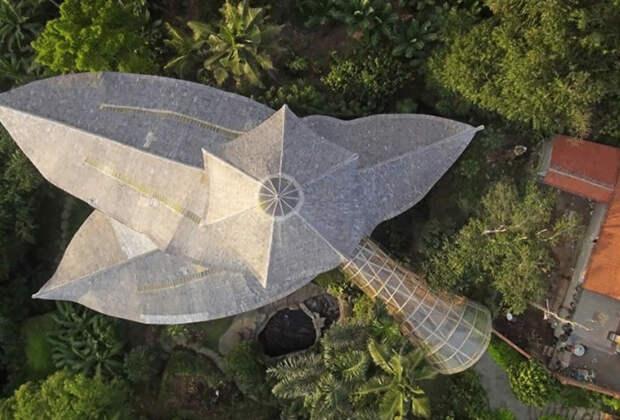 Бамбуковая архитектура: инженеры нарушают законы физики