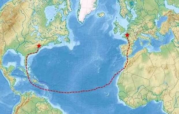 Парень сам доплыл из Франции до Нью-Йорка, питаясь отбросами в мире, велосипед, еда, лодка, люди, отбросы, путешествие