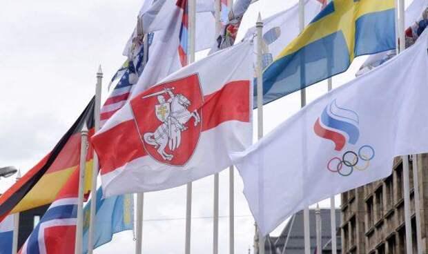 Спорт снова вне политики: в Риге сняли российский флаг