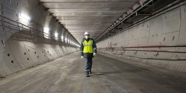 Собянин рассказал о будущем ТПУ на базе станции «Лианозово» метро и МЦД-1. Фото: В. Новиков mos.ru