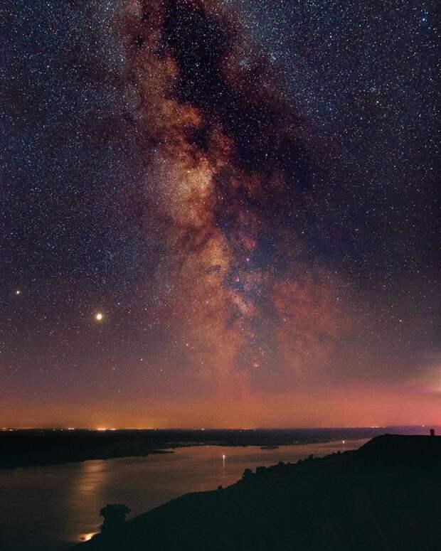 Житель Ижевска сфотографировал галактику Андромеды