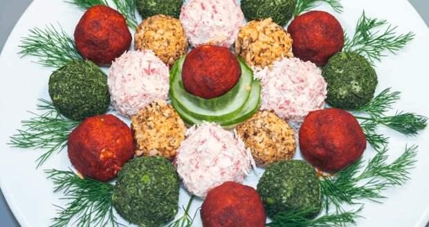 Сырные шарики к праздничному столу — безупречная закуска с оригинальной подачей