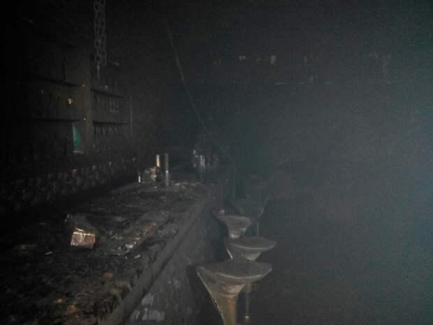 Видео пожара в ночном клубе Львова, где пострадали более 20 человек