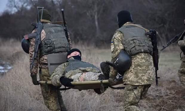 Донбасс: трос возмездия одним махом зашиб двух боевиков ВСУ (+ВИДЕО, ФОТО)