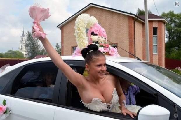 Прикольные свадебные торжества 28