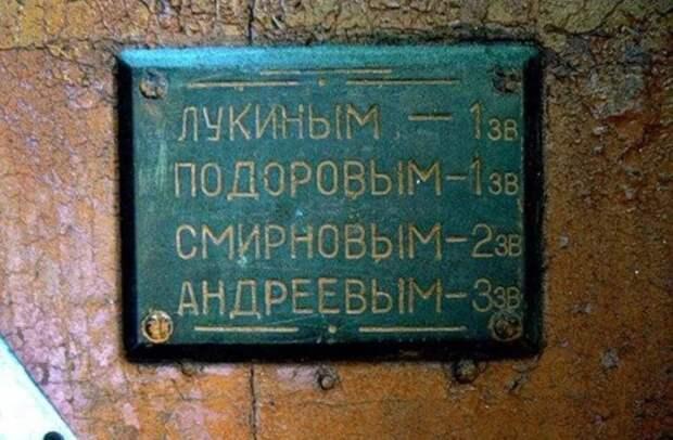 Табличка звонков у входной двери./Фото: avatars.mds.yandex.net