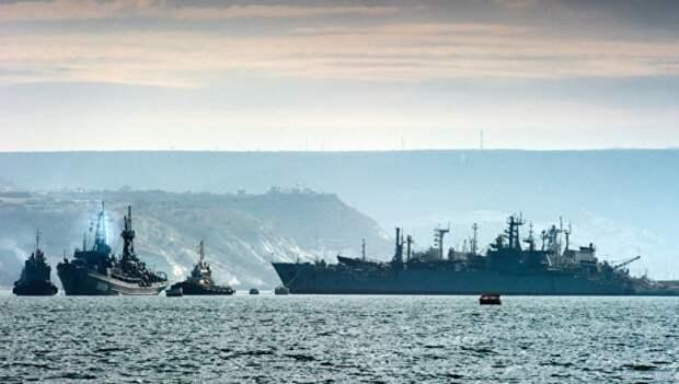Военные корабли России вышли в море на время украинских учений