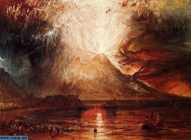 Одна из пяти миллионов картин на тему «Я дурак я не эвакуировался». Чуть ли не нашего кого-то из 19 века.
