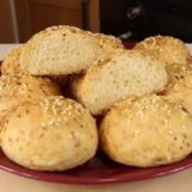 Ароматные булочки из постного капустного теста
