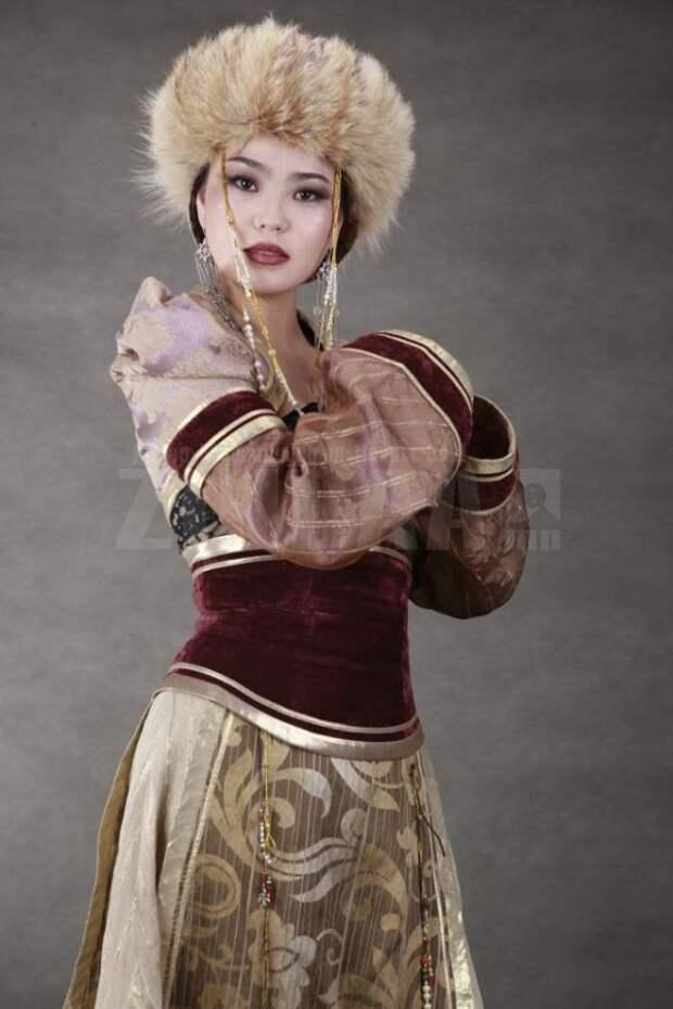 Самые красивые монголки (22 фото)