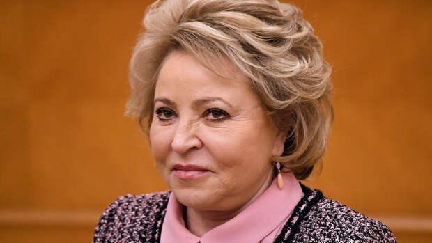 Матвиенко назвала самый вредительский закон в России
