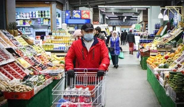 В России повысились цены на продукты