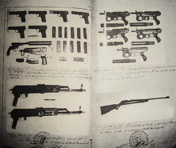 Арсенал оружия