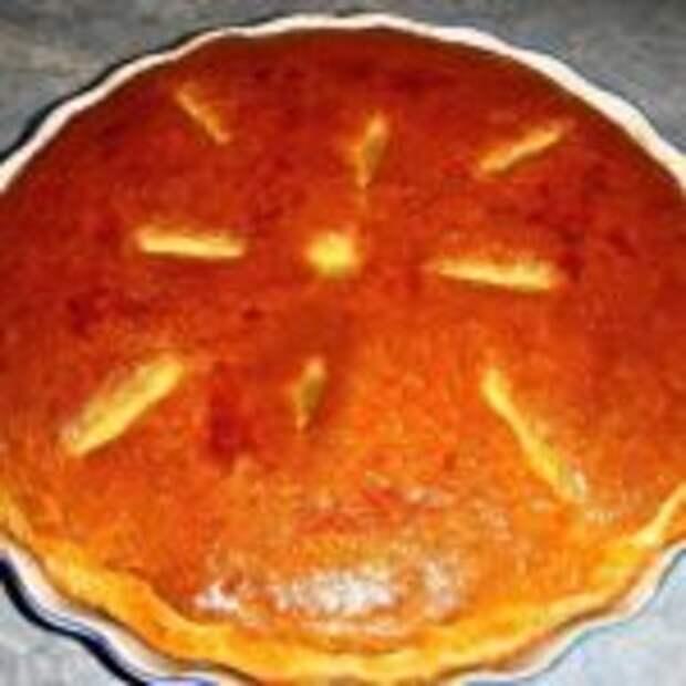 Дрожжевой пирог с капустой и мясом.