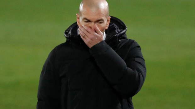 """Зидан назвал почти идеальной игру """"Реала"""" в матче с """"Гранадой"""""""