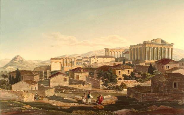 Как древние греки решали «квартирный вопрос».Тридцать тиранов в Афинах (2 статьи)