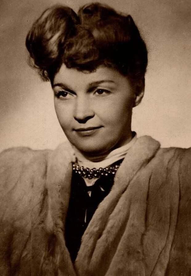 Вера Марецкая. / Фото: www.yandex.net