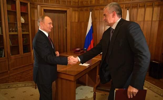 Аксенов получил от Путина орден за развитие Крыма