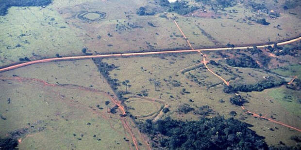 Тайна древних амазонских геоглифов