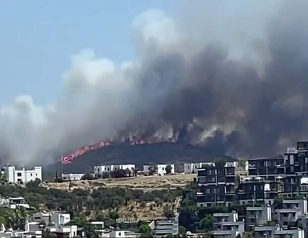В Турции ответственность за пожары взяла на себя террористическая организация