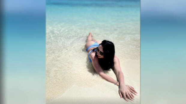 Туктамышева показала, как отдыхает на Мальдивах