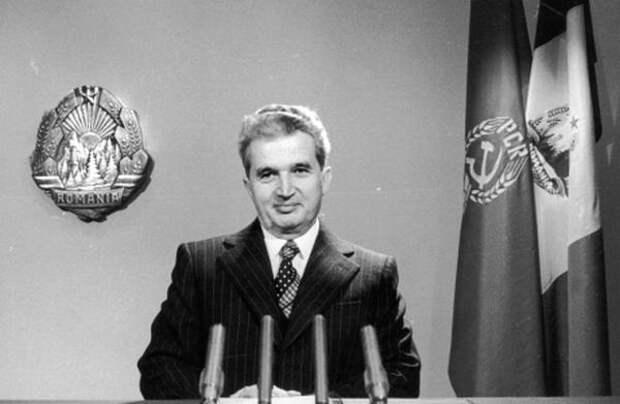 Николае Чаушеску в 1968 году.
