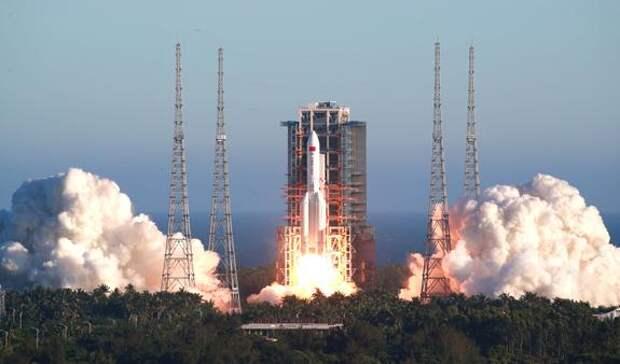 Обломки китайской космической ракеты могут упасть в любой точке Земли 8 -10 мая