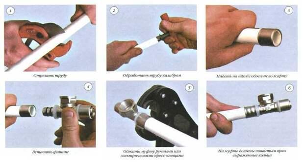 Как соединить пластиковые трубы для водопровода?