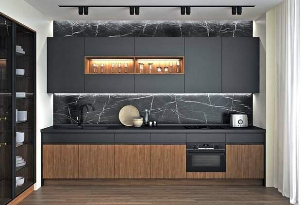 Какой выбрать материал для кухонного гарнитура
