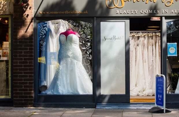 Владелица магазина подверглась осуждению за то, что выставила манекен большого размера