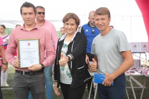 В День физкультурника на окружном празднике в СВАО побывал Алексей Ягудин