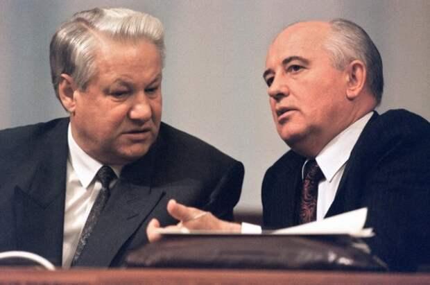 """Горбачев: Ельцин был моей ошибкой, я должен был отправить его """"на отдых"""", но защищал на пленуме и дал второй шанс"""