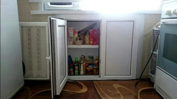 А ведь история все-таки циклична, и под окном вновь размещают холодильники. /Фото: balkon4life.ru