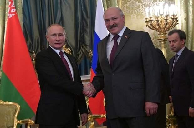 Кремль: встреча Путина и Лукашенко в конце мая готовится