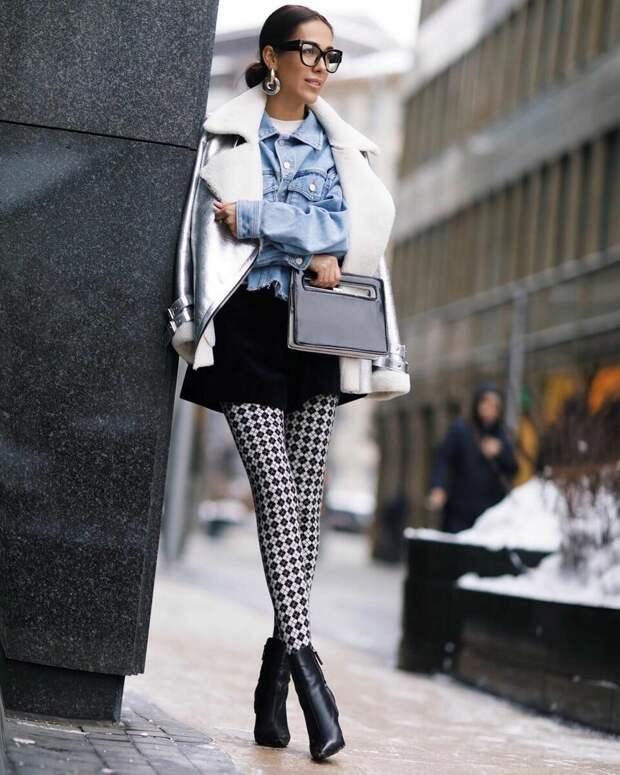 Колготки, которые будут носить модницы весной 2021